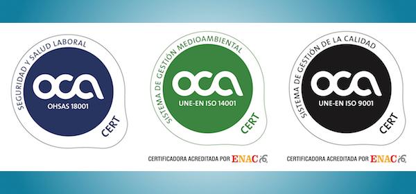 Certificaciones TM renovadas