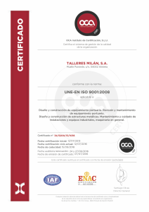 Certificado 9001